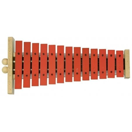 Percussion Carillon g13 g13r lame sonore rouge Eveil musical