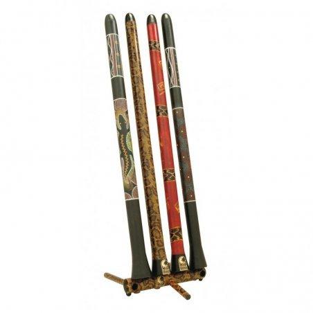 World percussion duro didgeridoos grand (peint)