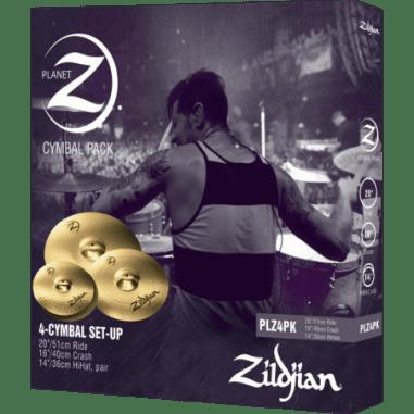 """ZILDJIAN Pack Planet Z 14"""", 16"""" et 20"""""""