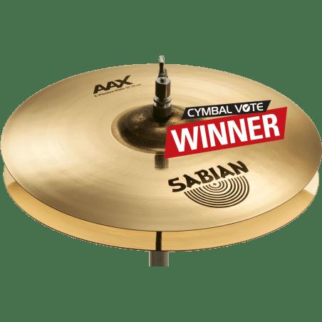 """Cymbale Aax x-plosion hats 16"""" Sabian"""