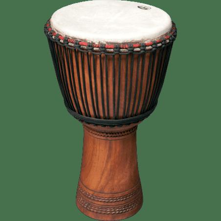 "Percussion Linke 11,5"" sculpté Djembe"