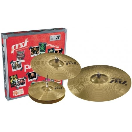 Set de cymbales pst 3 universel