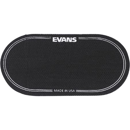 Accessoires Evans 2 patchs grosse caisse double batte Accessoires divers