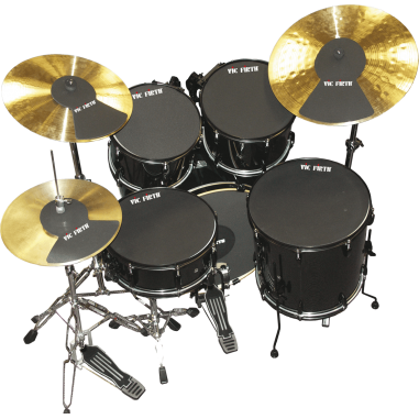 """Vic firth Pack sourdine fusion 10"""", 12"""", 14"""", 20"""", hh et 2 cymbales"""