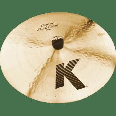 """K Custom 16"""" dark crash"""