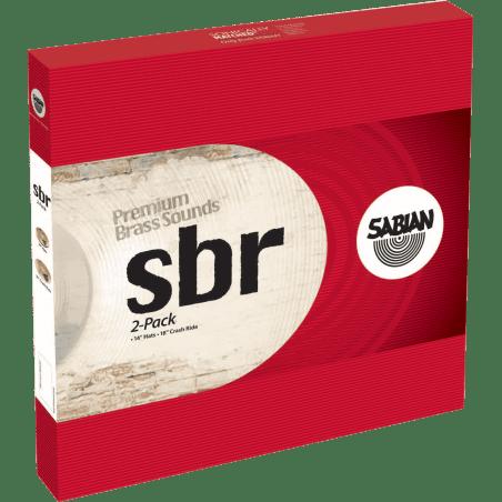 """Cymbale Sbr 2-pack 14"""", 18"""" Sabian"""