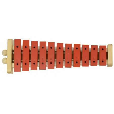 Percussion Carillon g11 g11r lame sonore rouge Eveil musical