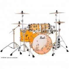 "Pearl CRYSTAL BEAT Rock 22"" 4 fûts - Tangerine Glass"