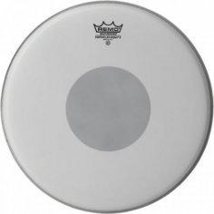REMO Peau CONTROLLED SOUND COATED 14'' + rond noir en-dessous pour Caisse claire