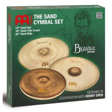 Cymbale Vintage set cymbales meinl byzance Meinl