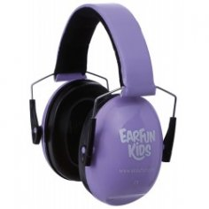 ACOUFUN EarFun Kids Parme - Casque Anti Bruit Enfants