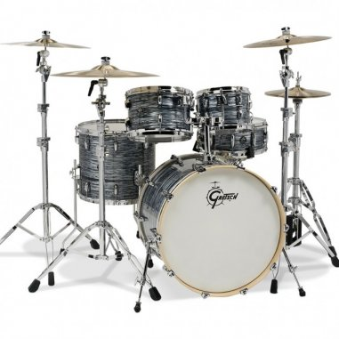 """GRETSCH RENOWN MAPLE SILVER OYSTER PEARL  22""""/4PCS"""