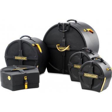 Housses Kit etuis hardcase 22-10-12-14-14cc noir Batterie