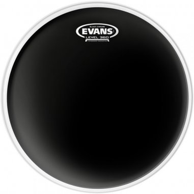 "Peaux Black chrome 10"" Evans"