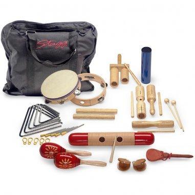 Percussion Kit percussion pour enfants, avec sac Eveil musical