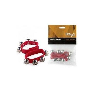Percussion Bracelets à cloches (2 pièces) - 4 cloches par bracelet Eveil musical