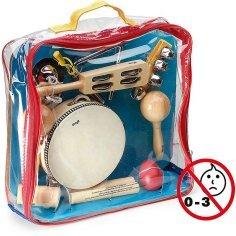 Set de petites percussions...