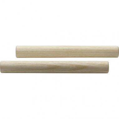 STAGG Paire de petites claves rondes en bois