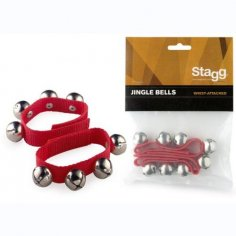 STAGG BRACELET A CLOCHES ROUGE