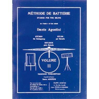 Librairie Dante agostini méthode de batterie volume 2
