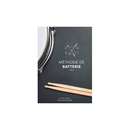 Librairie Drum & groove méthode de batterie vol.1