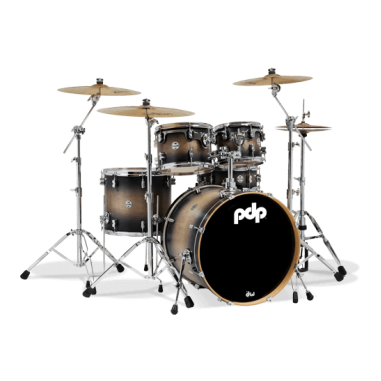 Batterie acoustique Pdp concept maple by dw satin charcoal burst Pdp