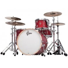 "GRETSCH USA BROOKLYN CHERRY RED 22""/4PCS"
