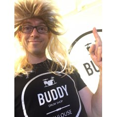 T-SHIRT BUDDY HOMME TAILLE  Argent