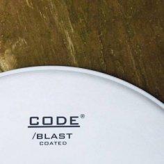 "CODE blast coated 22"" peau de grosse caisse"