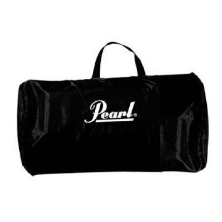 Accessoires Pearl tapis de batterie noir avec logo et cale grosse caisse Tapis batterie