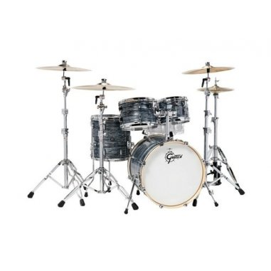 "GRETSCH RENOWN MAPLE SYLVER OYSTER 20""/4PCS"