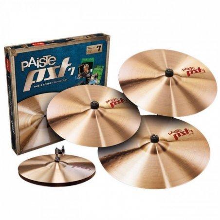 "Cymbale Paiste pack pst 7 light set hh14""/18"" thin/20"" light ride + 16""thin crash offerte Paiste"