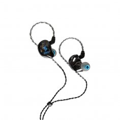 STAGG Écouteur à isolation acoustique noir, 4 transducteurs