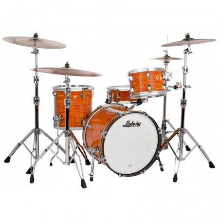 Ludwig Classic Maple Downbeat Drum Set Mod Orange 5 FÛTS 8, 10, 12, 14, 20