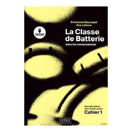 Librairie La classe de batterie dans les conservatoires 1