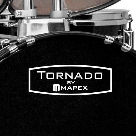 """Batterie acoustique Mapex tornado stage noir 22""""/ 5 pcs kit complet Mapex"""