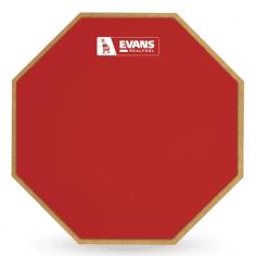 EVANS Pad d'entraînement RealFeel™ rouge édition limitée, 12 pouces