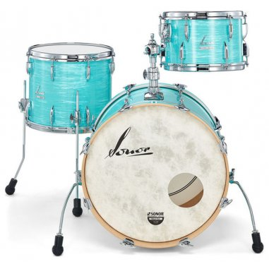 """SONOR Vintage California Blue - 20""""/12""""/14"""" (with mount)"""