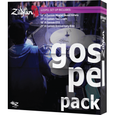 """ZILDJIAN Pack Gospel HH 14"""" / Fast Crash 17"""" / 18"""" EFX / 20"""" Ride"""