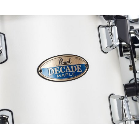 "Batterie acoustique Pearl decade maple white satin pearl 22""/5pcs Pearl"
