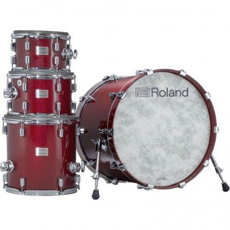 Nouveautes Roland vad-706-gc v-drums acoustic design gloss cherry Batterie electronique