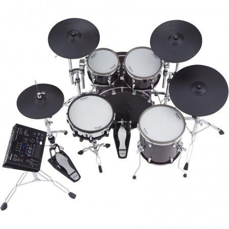 Nouveautes Roland vad-706-pw v-drums acoustic design piano white Batterie electronique