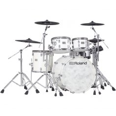 ROLAND VAD-706-PW V-DRUMS ACOUSTIC DESIGN PIANO WHITE