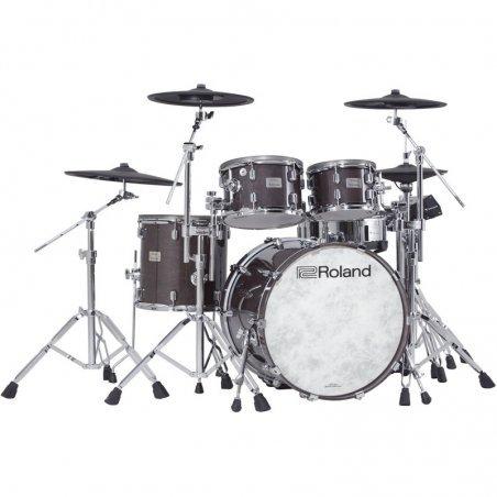 Nouveautes Roland vad-706-ge v-drums acoustic design gloss ebony Batterie electronique