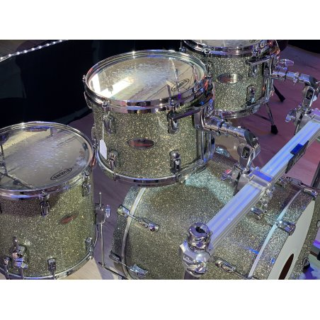 Occasions Pearl reference pure maple granite sparkle 22''/ 5pcs occasion Batteries acoustiques